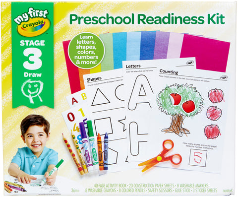 Crayola My First Preschool Ready Kit