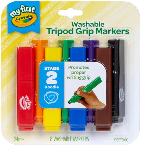 Crayola My First Tripod Grip Markers