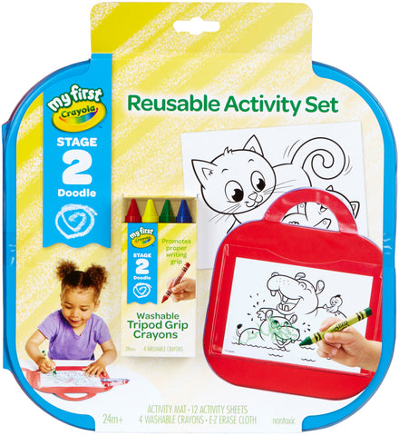 Crayola My First Reusable Activity Set