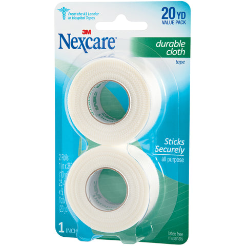 Nexcare Durable Cloth First Aid Tape 2/Pkg