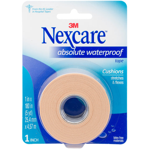 Nexcare Absolute Waterproof Premium First Aid Tape