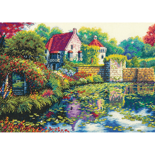 "Dimensions/Gold Collection Counted Cross Stitch Kit 14""X10"""