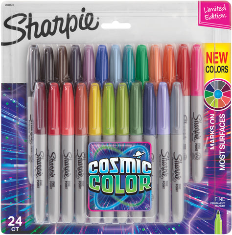Sharpie Cosmic Color Fine Point Markers 24/Pkg