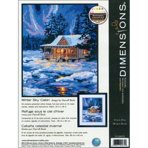 "Dimensions Needlepoint Kit 11""X14"""