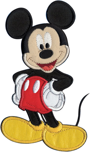 Wrights Disney Mickey Mouse Sew-On Applique