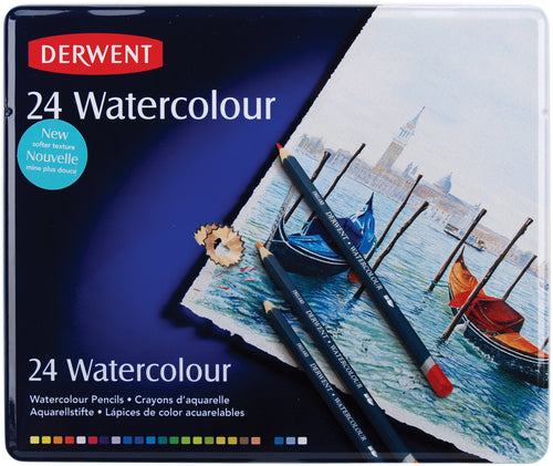 Derwent Watercolor Pencils 24/Pkg