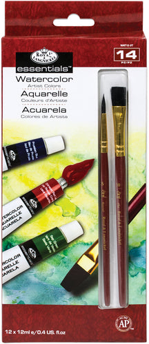 essentials(TM) Watercolor Paints 12ml 12/Pkg