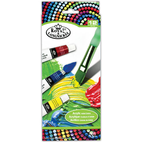 Acrylic Paint 12ml 12/Pkg