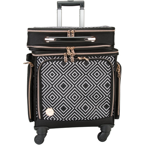 We R 2-In-1 Crafter's 360 Rolling Bag W/Detachable Briefcase