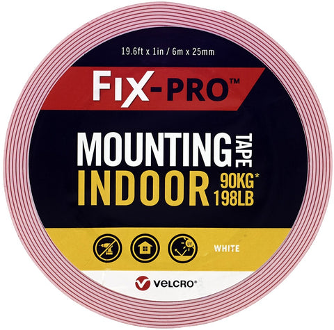 "Velcro(R) Brand Fix-Pro Indoor Mounting Tape 1""X19.5'"