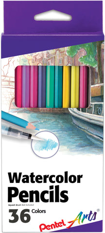 Pental Arts Watercolor Pencils 36/Pkg