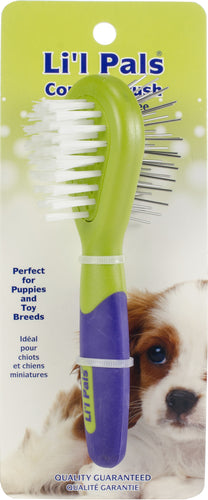 Li'l Pals Dog Combo Brush