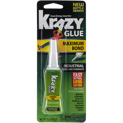 Krazy Glue(R) Maximum Bond Industrial Formula