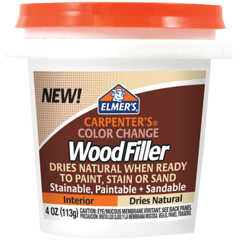 Elmer's Color Change Wood Filler 4oz
