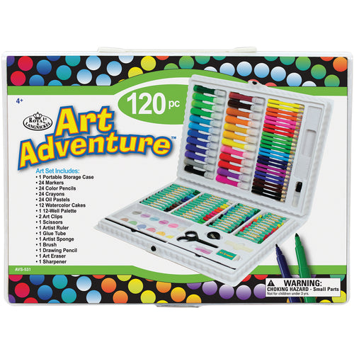 Art Adventure Art Set 120 Pieces