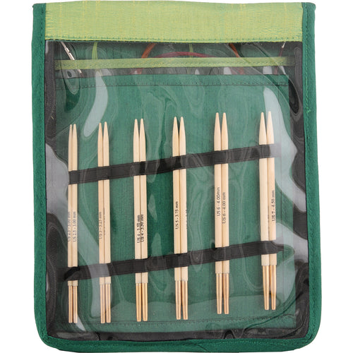 Knitter's Pride-Bamboo Deluxe Interchangeable Needle Set