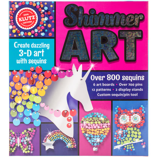 Shimmer Art Book Kit