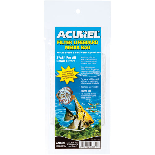 "Acurel Filter Lifeguard Media Bag 3""X8"""