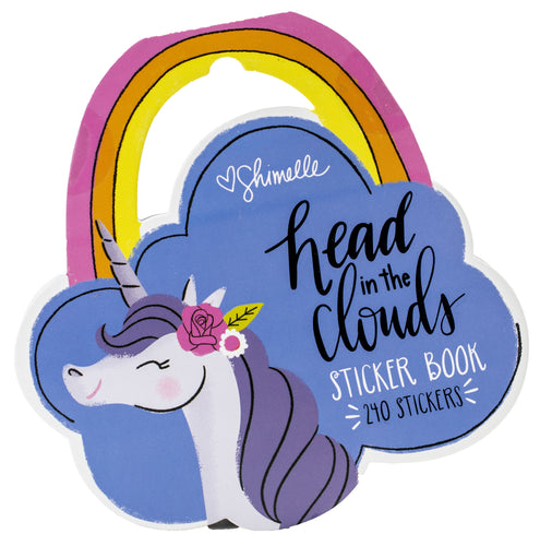 Shimelle Head In The Clouds Sticker Book 240/Pkg
