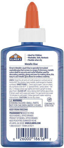 Elmer's Metallic Glue 5oz