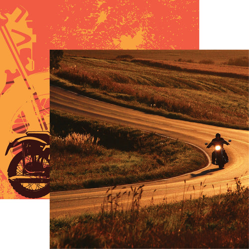 "Easy Rider Double-Sided Cardstock 12""X12"""