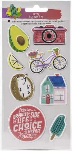 Amy Tan Stay Sweet Stickers 8/Pkg