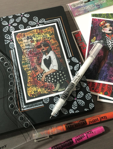Dyan Reaveley's Dylusions Black Journal