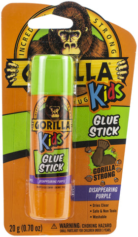 Gorilla Glue Washable School Glue Stick - Purple
