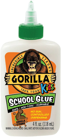 Gorilla Washable White School Glue
