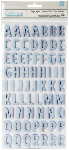 "Shimelle Sparkle City Thickers Stickers 5.5""X11"" 134/Pkg"