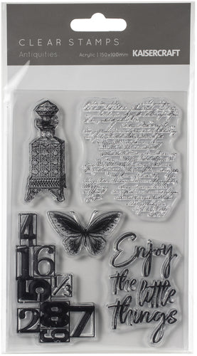 "Antiquities Clear Stamps 6""X4"""