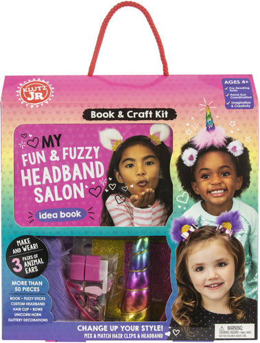 Klutz Jr. My Fun & Fuzzy Headband Salon