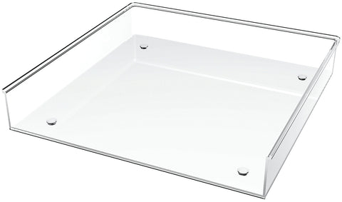 "Deflecto Acrylic Stacking Tray 12""X12"""