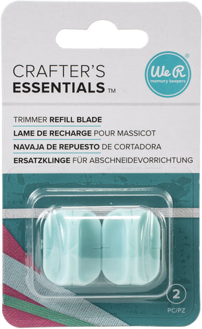 We R Memory Keepers Trimmer Refill Blades 2/Pkg