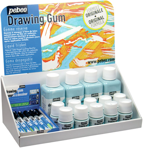 Drawing Gum Markers & Bottles POP Displayer 26/Pkg