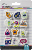 Sticko Small Erasers 12/Pkg