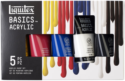 Liquitex BASICS Acrylic Paint 75ml 5/Pkg