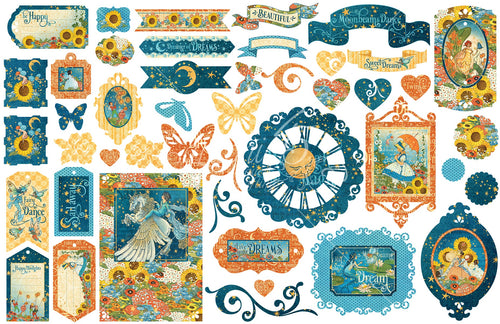 Dreamland Cardstock Die-Cut Assortment