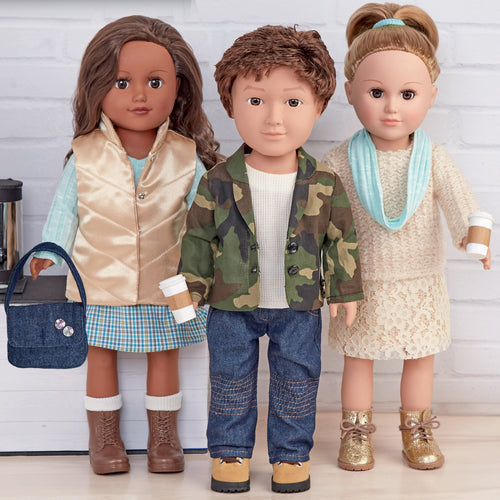 Simplicity 18 Unisex Doll Clothes