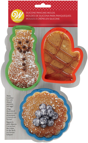 Silicone Pancake Shapers 3/Pkg