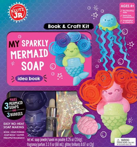 Klutz Jr. My Sparkly Mermaid Soaps