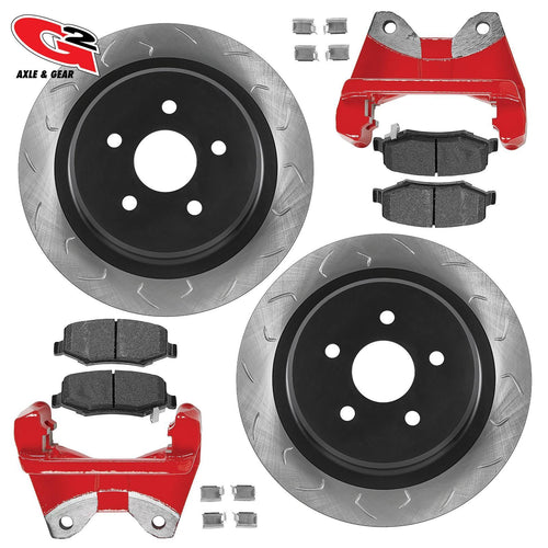 G2 Axle and Gear G2 Core Bbk - Rear Oversized Rotors, Caliper Brackets, And Performance Brake Pads 79-2052-1 G2 Axle and Gear