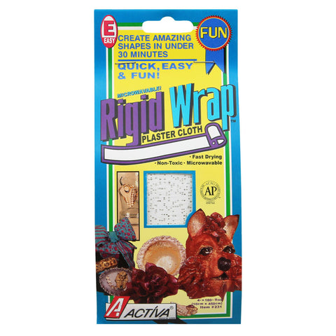 Rigid Wrap 4 Inch Plaster Tape By Activa Products
