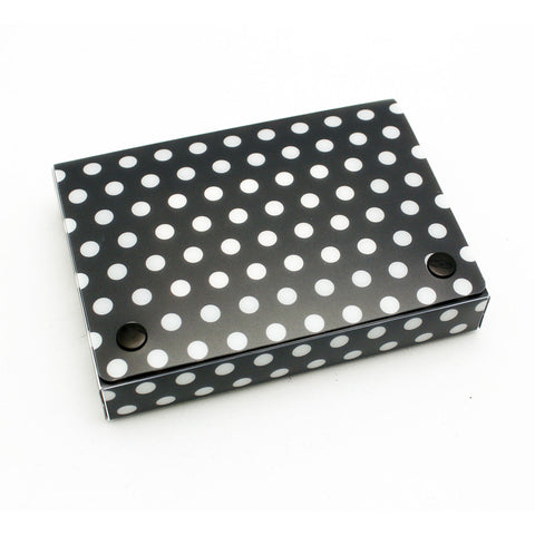 Bw Dots Index Card Boxes 4X6In By Ashley Productions
