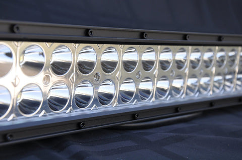 12 Inch Light Bar 72W Flood/Spot 3W LED Chrome DV8 Offroad