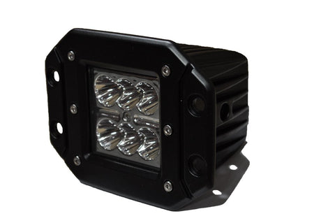 3 Inch Flush Mount LED Lights 20W Flood/Spot 5W Cree DV8 Offroad