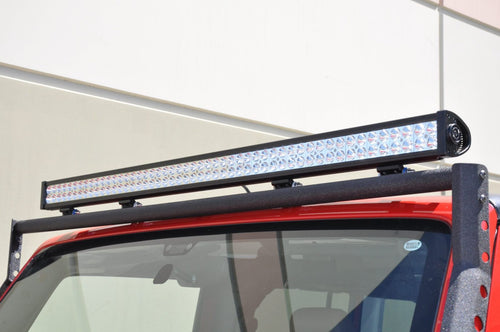 50 Inch Light Bar 300W Flood/Spot 3W LED Chrome DV8 Offroad