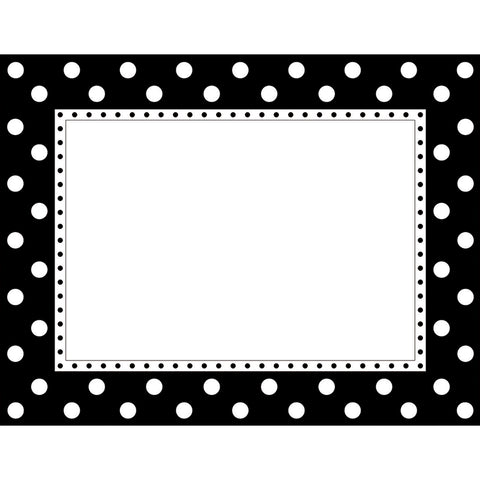 Black & White Dot Chart