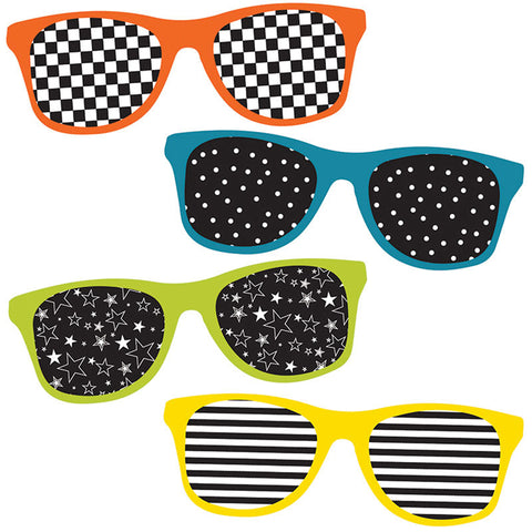 School Pop Sunglasses Cut-Outs