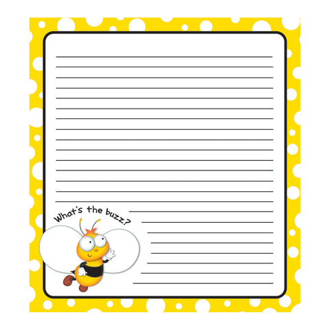Buzz-Worthy Bees Notepad